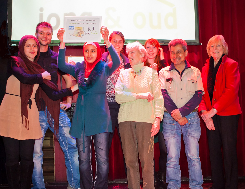 Winnaars Generatieconflict- zin of onzin (zaterdag 20 april 2013)